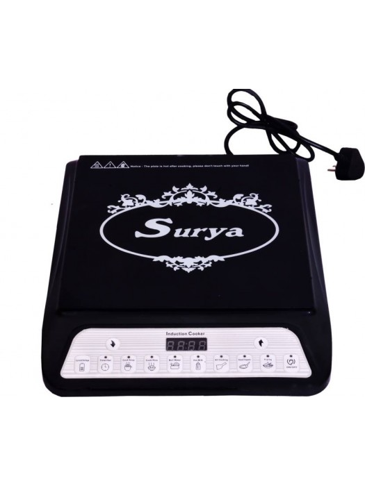 Surya A8 Induction Cooktop (Black)