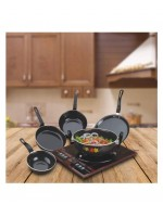 Surya Crystal 5 Pc Induction Cookware Set